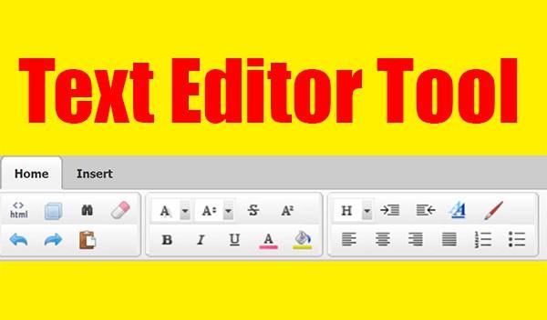 เครื่องมือ Text Editor เพื่อการเขียนบทความ