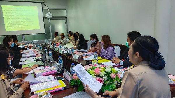 ประชุมคณะกรรมการประเมินความพร้อมการขอเปิดห้องเรียนพิเศษ ปีการศึกษา 2565