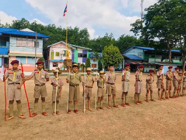 โครงการเข้าค่ายลูกเสือ-เนตรนารี โรงเรียนบ้านหนองเจ็กสร้อย